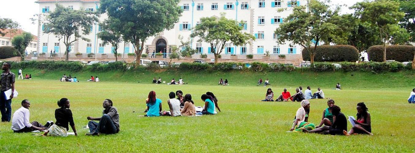 UNDERGRADUATE STUDENTS IN THE IVORY TOWER'S FREEDOM SQUARE